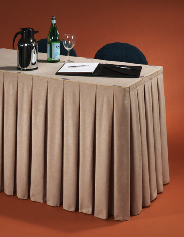 Table Skirts Skirting For Tables Trade Shows Banquets