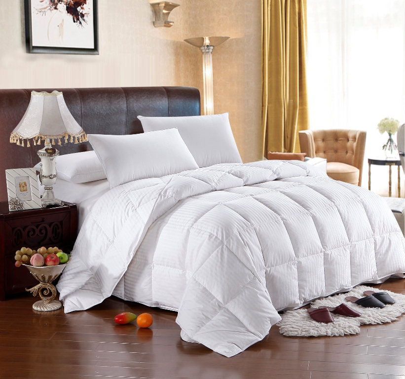Goose Down Filled Egyptian Cotton Comforter