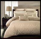 Damask Print 7 Piece Duvet Set