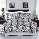 Animal Zebra Print Duvet Set
