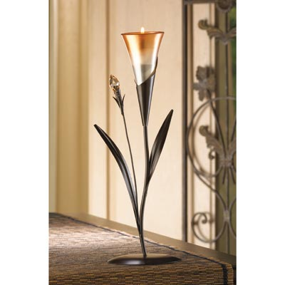 blossom tealight candle holder - Home Decor Accents