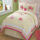 Butterfly and Flower Quilt Set