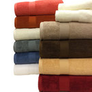 Solid Color Plush Towel Set